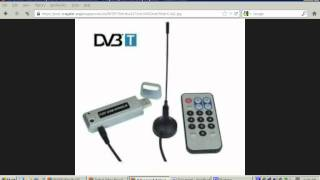 DVB-T USB dongle digital television sticks do NOT function in the United States, Canada, nor Mexico