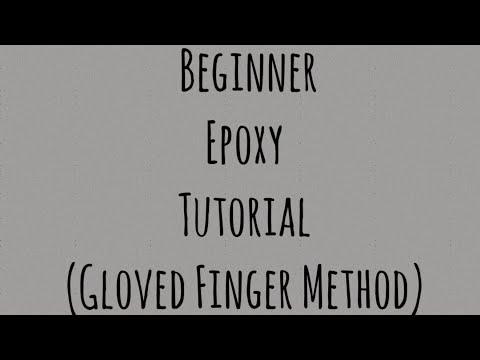 Initial Epoxy Coat for a glitter tumbler