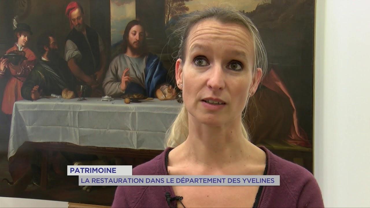 Yvelines | Patrimoine : La restauration dans le département des Yvelines