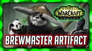 WOW Legion ► Fu Zan, The Wanderer's Companion - Brewmaster Monk Artifact Quest