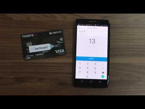 Оплата с карты на смартфон через NFC / Card To Phone Payment Via NFC