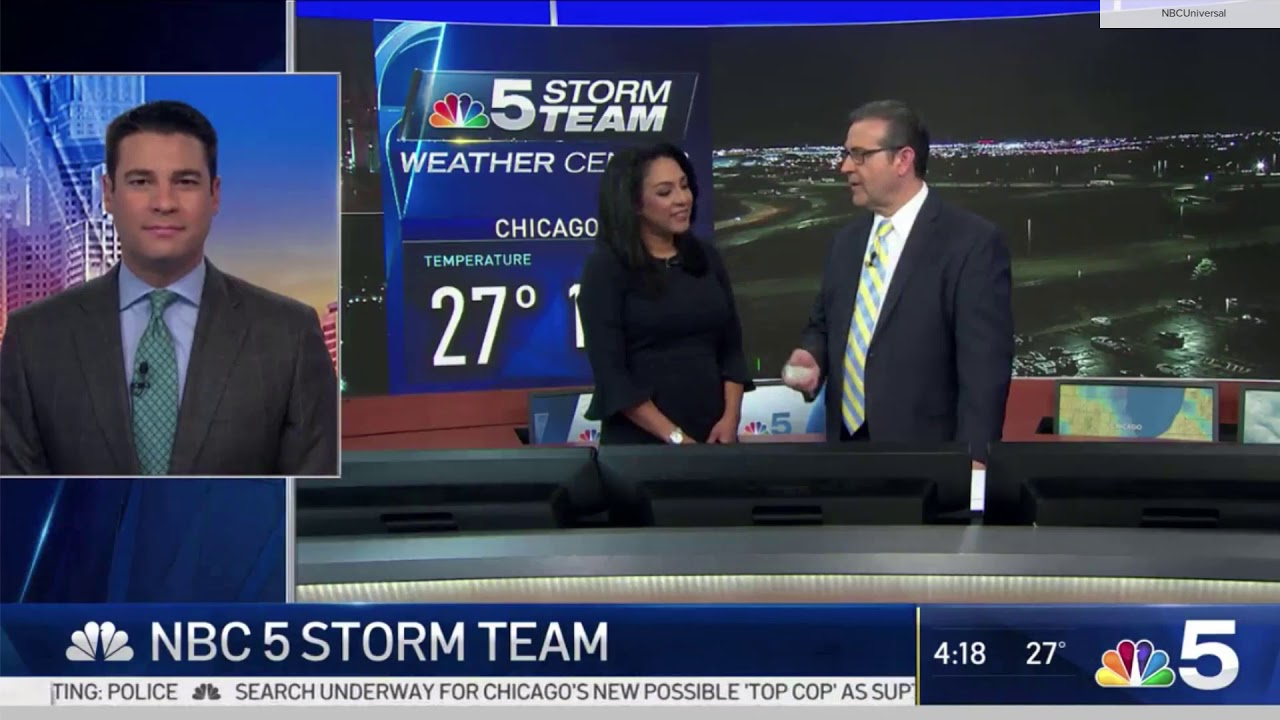 Nbc Chicago Puts The Team In Storm Team On Select Mornings