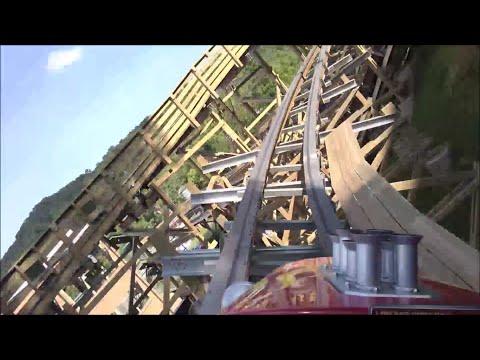 Lightning Rod HD On-Ride POV Front Summer 2016 Dollywood