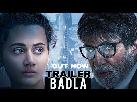 Badla Trailer Out Today | Amitabh Bachchan | Tapsee Pannu | Badla Trailer | Badla First LOOK