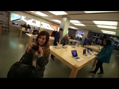 Busted Vlogging in the Apple Store Cardiff