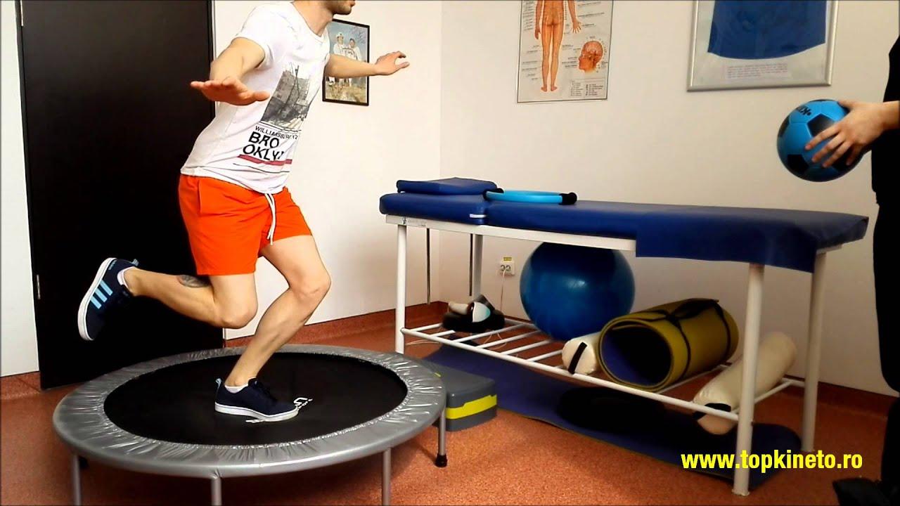 kinetoterapie genunchi