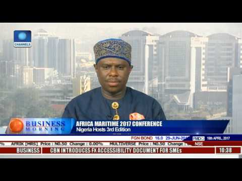 Business Morning: Nigeria Hosts 3rd Edition Of Africa Maritime Conference Pt 1