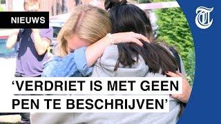 Breda rouwt om doodgestoken Megan (15)