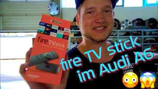 fire TV in Audi A6