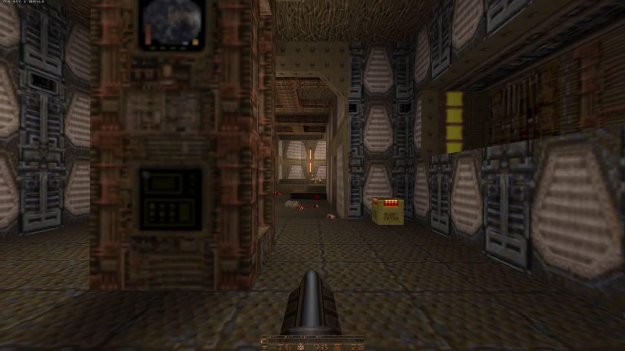 Quake (Quakespasm engine) demo at 1080p