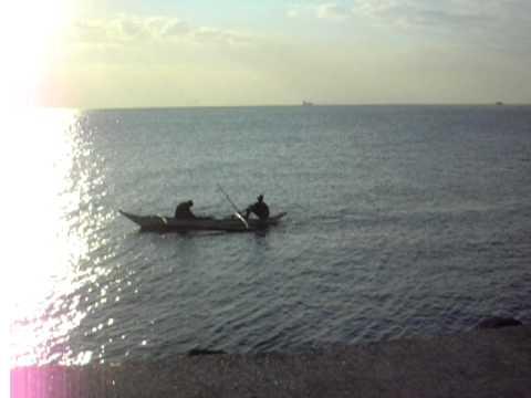 Fishing Boat Sunset, Manila