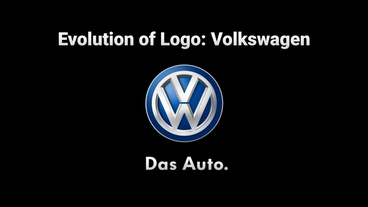 evolution  logo volkswagen youtube