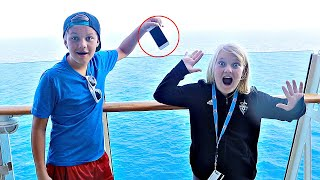 DROPPED her iPHONE!