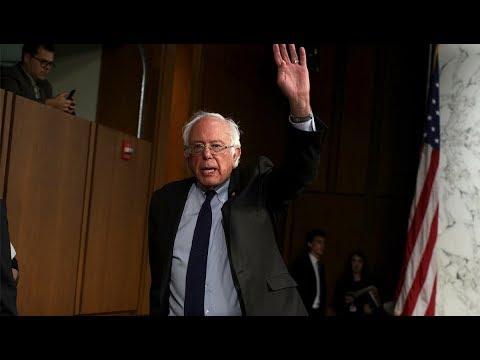 Bernie Sanders Calls Out 'International Oligarchy'