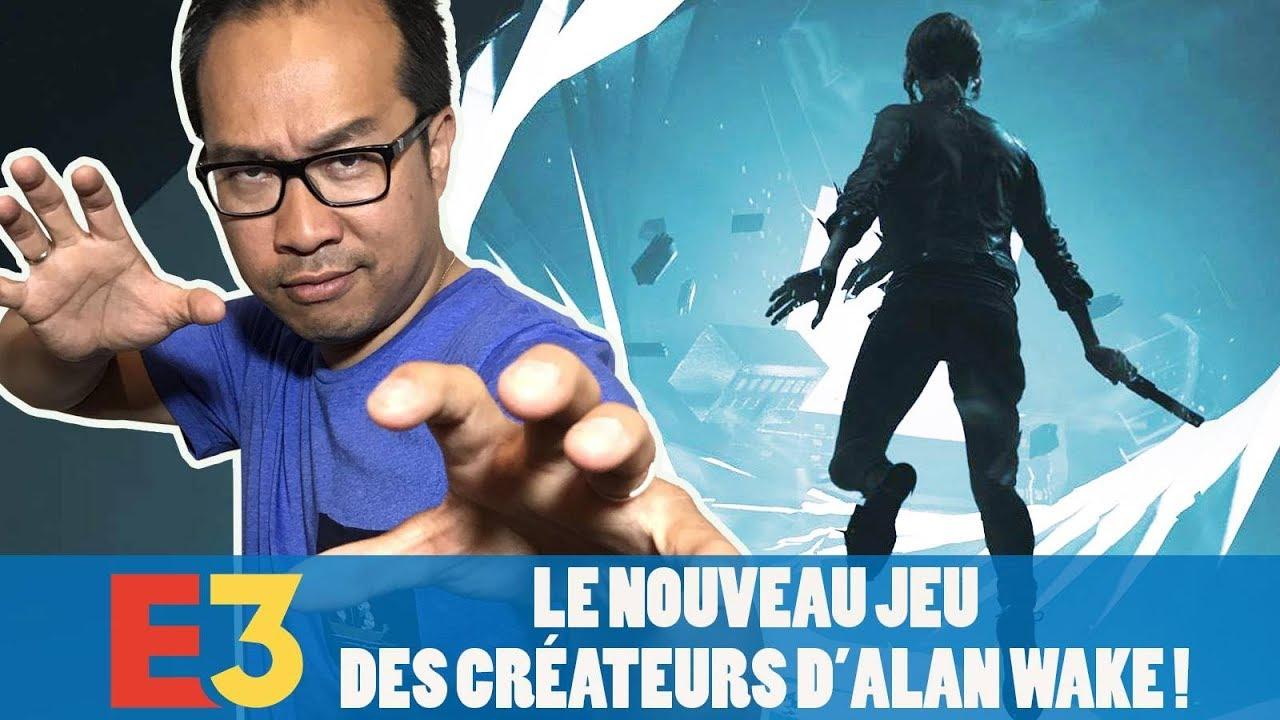 CONTROL: le nouveau jeu des créateurs d'ALAN WAKE !