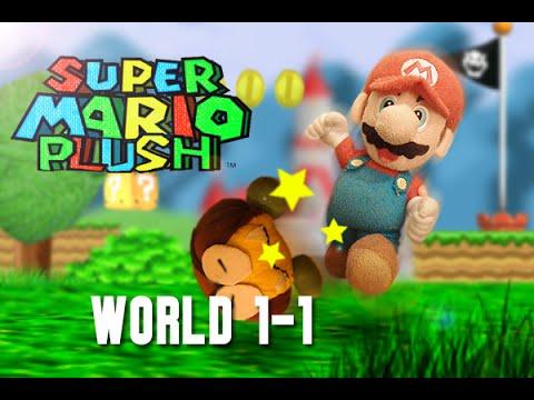 Super Mario Plush World 1-1