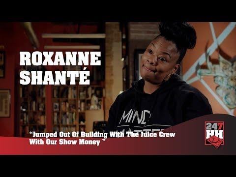 Roxanne Shanté - Jumped Out Building With Juice Crew & Show Money (247HH Wild Tour Stories)