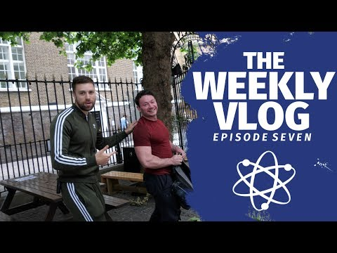 Bodybuilding, Business and Big Len... Natural Bodybuilding Prep Series Weekly Vlog