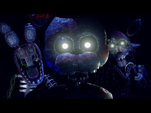 The Scariest FNAF Free Roam Ever.. || The Joy Of Creation: Reborn
