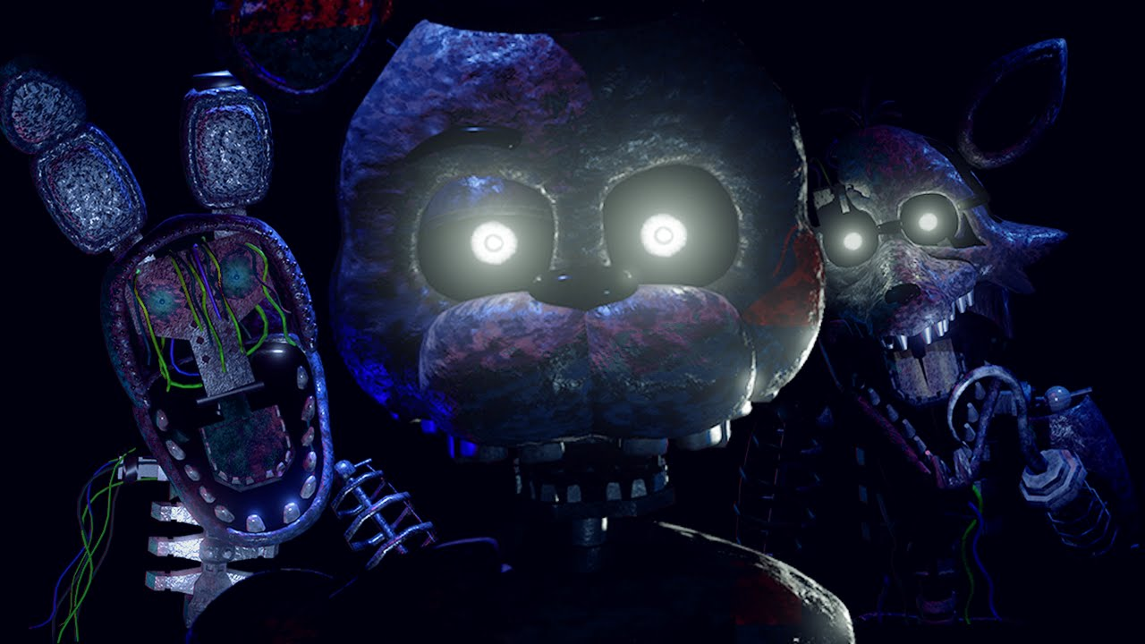 The Scariest FNAF Free Roam Ever   || The Joy Of Creation: Reborn
