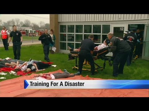 Training For A Disaster With School Shooting Simulation