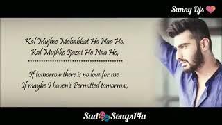 Ma phir b tum ko chao ga.. kal mujh sy muhat ho na ho.,, indian bollywood songs of sharada
