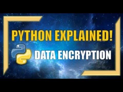 Python: How to Encrypt & Decrypt Data using Symmetrical Encryption