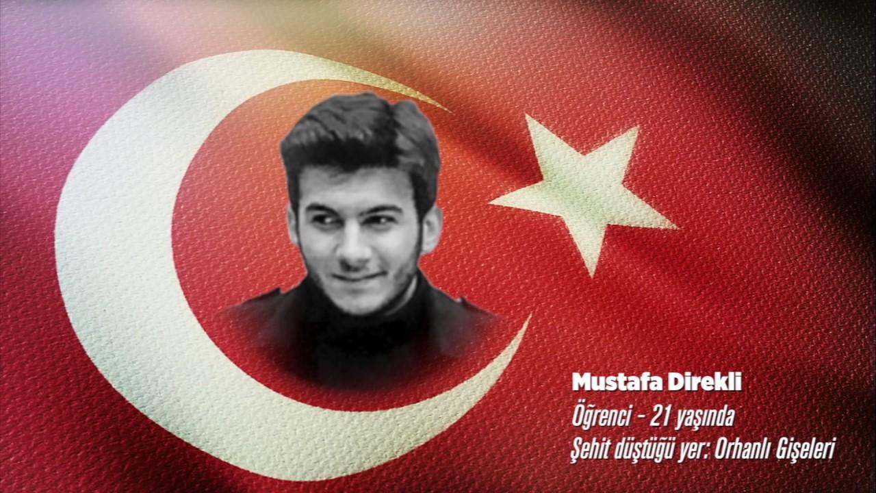 15 Temmuz Şehidi Mustafa Direkli