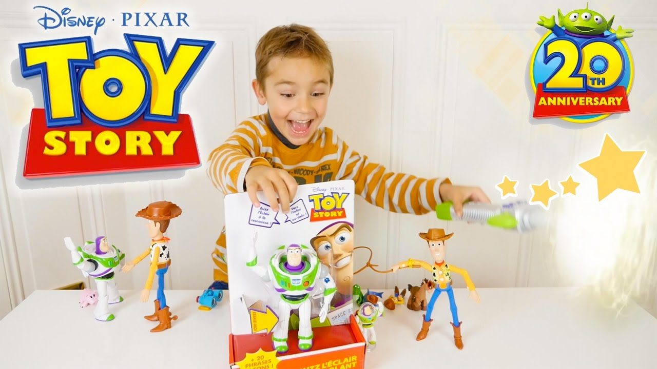 sabre laser magique jouets toy story youtube. Black Bedroom Furniture Sets. Home Design Ideas