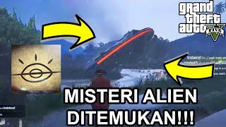 MISTERI ALIEN DI GTA 5 DITEMUKAN!!   Chiliad Mystery Guru!!