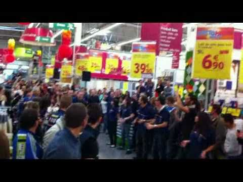 Flash mob castorama toulon la garde youtube - Castorama toulon la garde ...