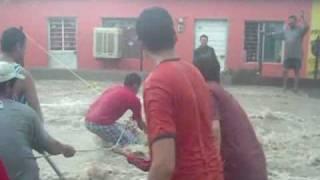 Huracan Alex en Monclova, Coahuila.