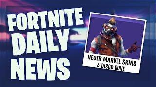 *NEUER* MARVEL SKIN - Fortnite Daily News (26 April 2019)