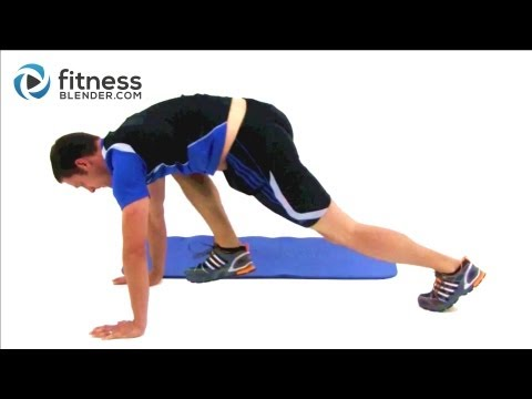 15 Minute Total Body Boot Camp Fitness Blender HIIT Workout