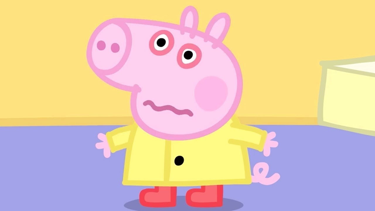 92ccfa100 Peppa Pig Official Channel | George Pig Catches a Cold! - YouTube