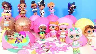 Куклы Лол Сюрприз Мультик! Единорожка собирает коллекцию Lol Surprise Игрушки для детей