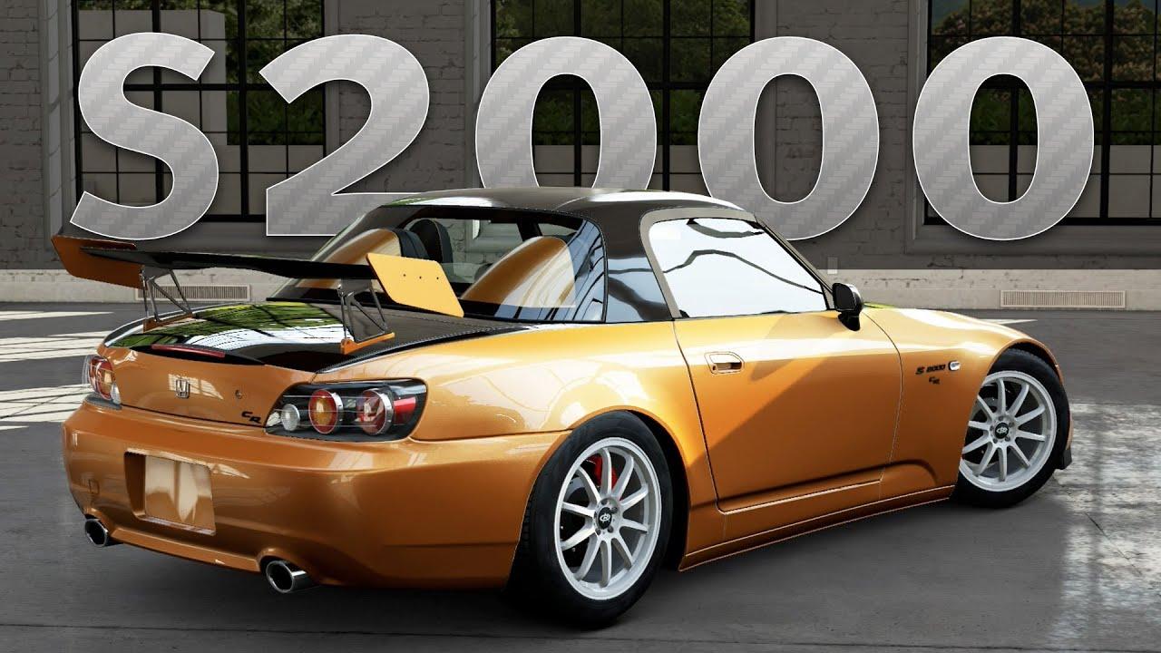 Forza 5 Car Build Honda S2000
