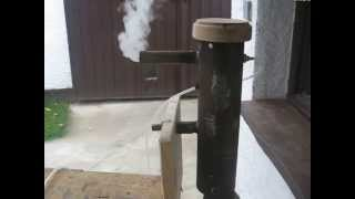 Repeat youtube video Homemade Cold smoke Generator / Füstgenerátor