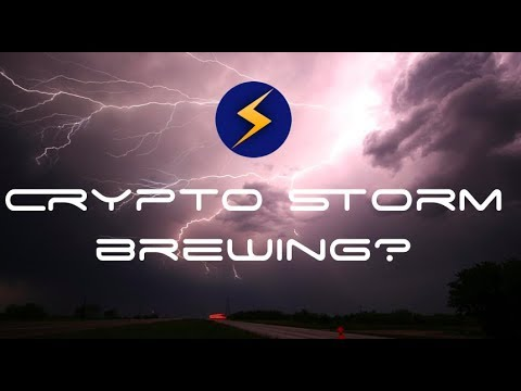 Cryptocurrency STORM brewing? Are you going to sell, buy, or wait?