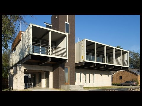 House Made From Shipping Containers In Dallas