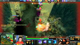 Dota 2 Gameplay Dota 2 Faceless Void Ranked Gameplay with Live Commentary