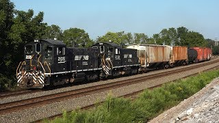 12 Awesome Trains on the Norfolk Southern Harrisburg Line Summer 2018