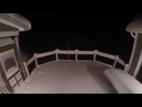 Winter Storm Jonas Time Lapse Winchester, VA
