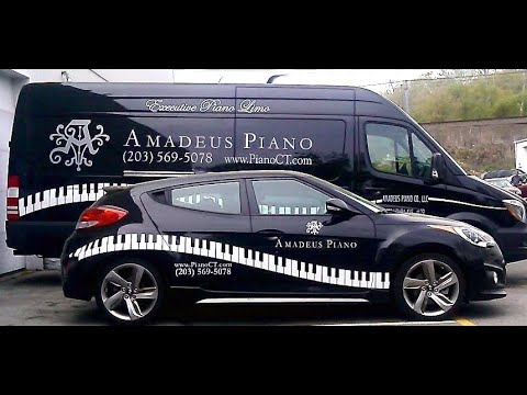 Yamaha baby grand piano crating for international shipping to Switzerland
