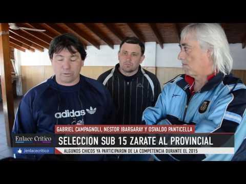 Seleccion Sub 15 Zarate Provincial