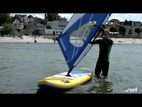 Windsurf-Manöver: So geht der Beachstart