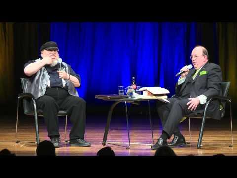 George R.R. Martin im Gespräch mit Denis Scheck