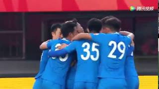 All Goals 2017 of Eran Zahavi - from Tencent Video thumbnail