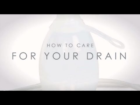 Video about Post-Operative Drain Care Video