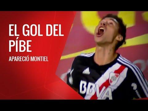 El gol de Gonzalo Montiel